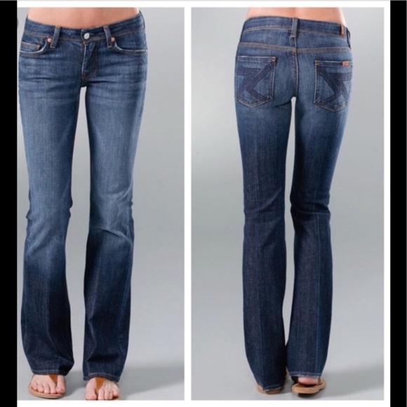 9465338e08f 7 For All Mankind Denim - 7FAM 7 For All Mankind Flynt Slim Bootcut 25X29